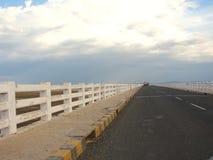 Uma estrada nas nuvens Foto de Stock Royalty Free