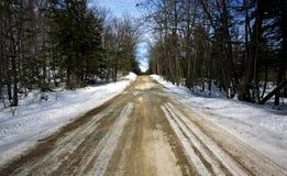 Uma estrada secundária Fotos de Stock