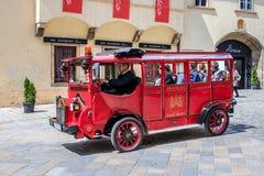 Uma excursão em Bratislava, Eslováquia Imagens de Stock Royalty Free