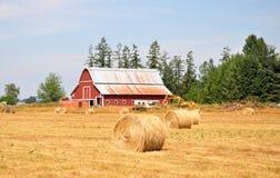 Uma exploração agrícola do pitoresque, estado de Washington Imagem de Stock Royalty Free