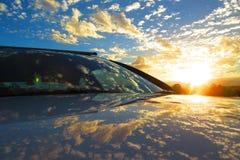 Uma explosão de Sun Foto de Stock Royalty Free