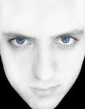 Uma face do homem Fotos de Stock Royalty Free