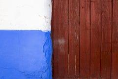Uma fachada colorida Fotografia de Stock Royalty Free