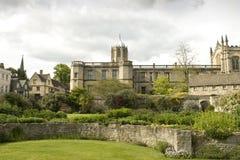 Uma faculdade na universidade de Oxford Foto de Stock