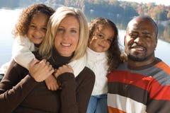 Uma família bonita Fotos de Stock Royalty Free