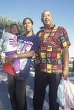 Uma família do African-American Imagem de Stock Royalty Free