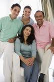 Uma família do Oriente Médio Fotos de Stock Royalty Free