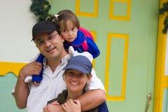 Uma família que aprecia Foto de Stock Royalty Free