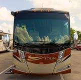 Uma fantasia rv no mundo de acampamento, Fort Myers Fotografia de Stock Royalty Free