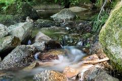 Uma fase do rio Foto de Stock