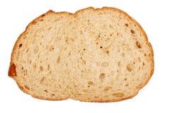 Uma fatia de pão marrom Fotografia de Stock