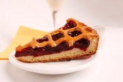 Uma fatia de uma torta Imagem de Stock