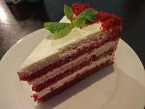 Uma fatia de veludo vermelho Foto de Stock