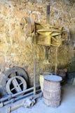 Uma fábrica do ocre de Roussillon da oficina Imagem de Stock Royalty Free