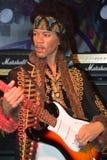 Uma figura de cera de Jimi Hendrix Imagem de Stock