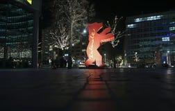 Uma figura do urso de Berlinale atende ao Berlinale Imagens de Stock