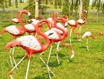 Uma figura moldada flamingo Fotografia de Stock Royalty Free