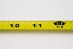 Uma fita de medição Foto de Stock