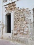 Uma fortaleza velha histórica que mostra sua idade Foto de Stock Royalty Free