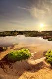 Seascape claro bonito fotos de stock