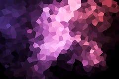 Uma fotografia de um teste padrão geométrico abstrato ilustração do vetor