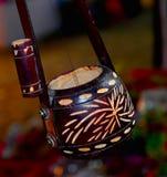 Uma fotografia tradicional do ektara da corda Foto de Stock Royalty Free