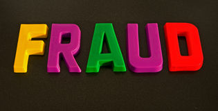 Uma fraude colorida? fotos de stock