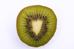 Uma fruta de quivi meia foto de stock royalty free
