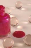 Uma gota do rosa Fotos de Stock
