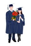 Uma graduação Fotos de Stock Royalty Free