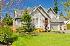 Uma grande casa nova. Foto de Stock Royalty Free