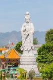 Uma grande estátua da Buda de Guanyin Imagens de Stock