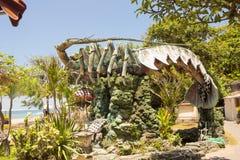 Uma grande estátua dos lagostins, Sanur, Bali, Indonésia Fotos de Stock Royalty Free