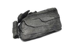 Uma grande parte de carvão vegetal Foto de Stock Royalty Free