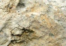 Uma grande superfície da laje da pedra calcária Imagem de Stock