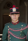 Uma guarda de San Marino Republic, Itália Fotos de Stock Royalty Free