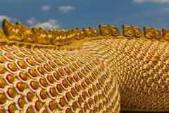 Uma guarda grande da serpente do Naga Fotos de Stock Royalty Free