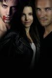 Uma história do vampiro - romance entre o vampiro Fotografia de Stock Royalty Free