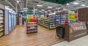 Uma Holanda e um Barrett Store imagens de stock
