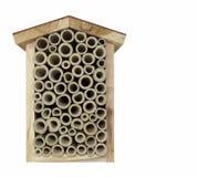 Uma HOME da abelha Fotografia de Stock