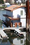 Uma HOME de flutuação, Portland OU. Imagem de Stock Royalty Free