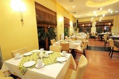 Uma ideia da grande sala de jantar Fotografia de Stock