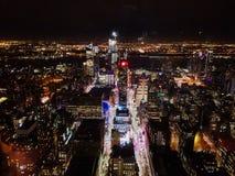 Uma ideia das luzes da cidade foto de stock royalty free