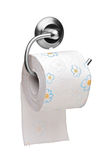 Uma ideia de um rolo do papel higiénico Foto de Stock Royalty Free