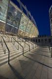 Uma ideia do estádio olímpico em Kiev Fotografia de Stock Royalty Free
