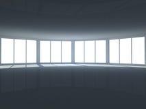 Uma ideia do interior do quarto Ilustração Stock