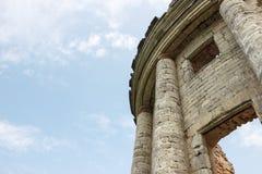 Uma igreja arruinada Fotografia de Stock