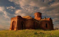 Uma igreja com a eternidade Fotos de Stock Royalty Free