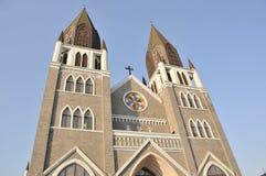 Uma igreja cristã em China Fotografia de Stock
