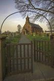Uma igreja da vila Imagem de Stock